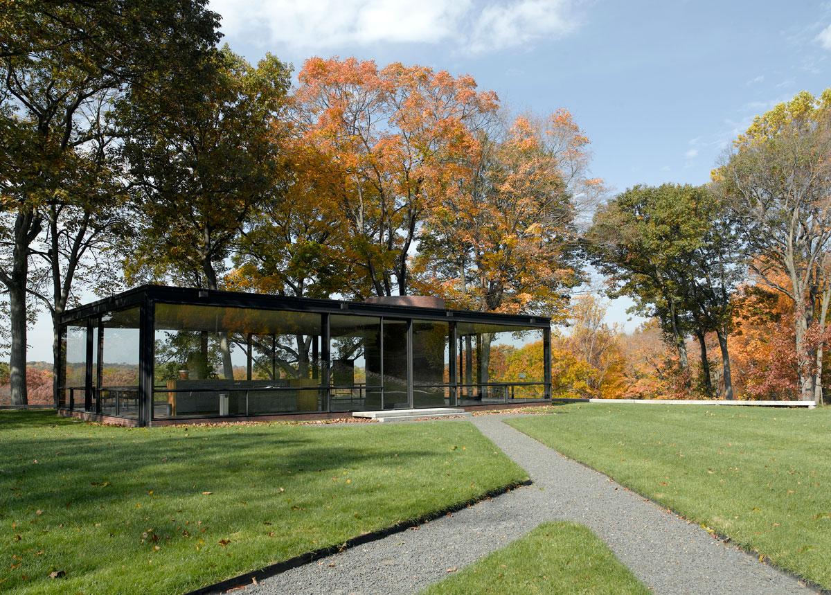 Philip Johnson Glass House philip johnson glass house | landtech engineering & planning